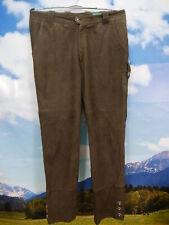 Canda lang und butterweich Schafnappa Lederhose braun in Trachten Style Gr.52