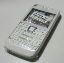 Full Replacement Housing Case Shell With Keypad For Nokia E63(White)