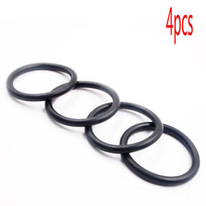 4x Bumper Fender Quick Release Fastener Replacement Rubbers O-Ring Band Kit
