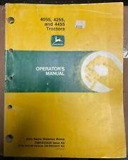 John Deere 4055 4255 Amp 4455 Tractors Operator Manual Omrw25629 K9 O 2
