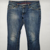 Tommy Hilfiger Victoria Dark Worn W29 L32 blau Damen Designer Denim Jeans Hose