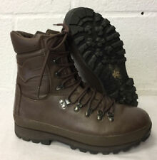 Altberg combat brown leather boots - British Army  - UK 9M