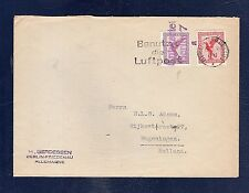 35 Germany 1933 Air Mail Cover Berlin Wageningen Holland