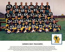Green Bay Packers - 1962 NFL Champs, 8x10 Color Team Photo