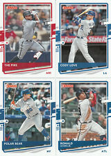 2020 Donruss Base Variation Pete Alonso/Polar Bear #204 Mets