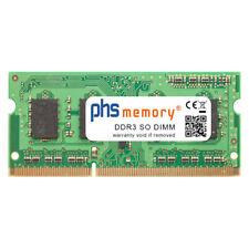 4GB RAM DDR3 passend für Toshiba Satellite L50D-A-K8S SO DIMM 1600MHz Notebook-