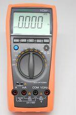 VC99+ 5999 Auto multimeter current volt tester R C  F temp analog bar temp buzz