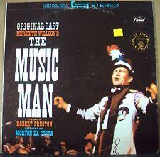THE MUSIC MAN OST LP OOP green label repress Meredith Wilson Broadway cast
