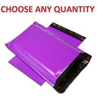 "9x12 PURPLE POLY MAILERS Shipping Envelopes Self Sealing Mailing Bags 9"" x 12"""