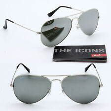 04d4ca2fc5 62mm ray-ban aviator new sunglasses for men and women silver mirror lens  RB3025