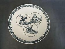 C6  Vintage MAGIC MOUNTAIN Souvenir Plate - Wizard & Troll - Log Ride