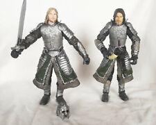 "Boromir & Faramir Gondor Action Figures LOTR Lord Of The Rings  6"" scale toybiz"