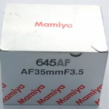 Mamiya 645AF 35mm f3.5 (also for Phase One), boxed, near mint condition (19087)