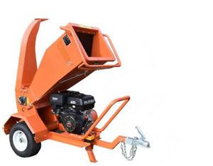 "3.5"" Capacity Petrol Wood Chipper / Wood Processor / Heavy Duty Chipper / UK"