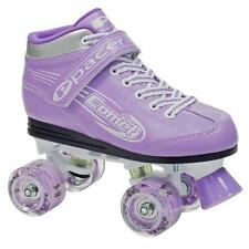 NEW RDS Comet Purple Light Up Wheels Roller Skates Size 5 (24.5cm)