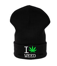Beanie hat hats Marijuana Weed 420 Leaf Ankle HIGHLIFE Ganja Cannabis Casual LA