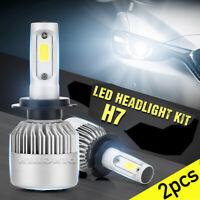 2x H7 30W 20000LM Lampadine Headlight Luce LED Faro Kit Per Auto 6000K-6500K