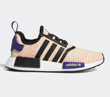 5.5 M US adidas NMD/_R1 Big Kids Shoes Clear Brown//Solar Red g27948