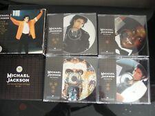MICHAEL JACKSON TOUR SOUVENIR PACK LTD EDT 4 CD PICTURE DISC SET MJ4