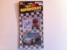 Racing Champions - Nascar - Stickers Ken Schrader (2 hologrammes autocollants)