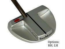 New See More SB1 Platinum Putter.  Center Shaft SeeMore.