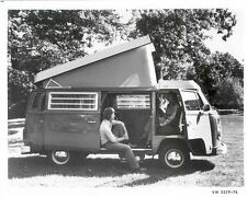 1976 Volkswagen Bus Westfalia Camper Factory Photo u6666-T3G8R6