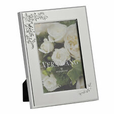 """VERA WANG By Wedgwood Lace Bouquet 4""""x6"""" Photo Frame"""
