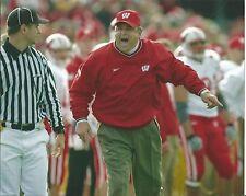 Wisconsin Badgers Head Coach Berry Alvarez Unsigned 8x10 Photograph
