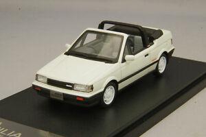 1/43 Hi-Story Mazda Familia Cabriolet 1986 Dover White HS265WH
