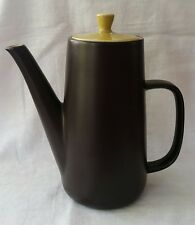 Vintage retro Mikasa Spring Tea Terra-stone Coffee Pot
