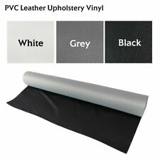 """Marine Vinyl Fabric Faux Leather Sheets Craft Auto Re-upholstery Replace 54""""Wide"""