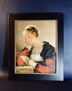 Tableau / Peinture - La Lettre de Fragonard - Reproduction Officielle DIFAC