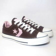 Women's Men's CONVERSE All Star STAR PLAYER BROWN PINK Trainers Shoes UK SIZE 5
