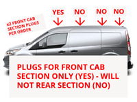 FORD TRANSIT CONNECT 2014+ FRONT CAB SECTION - ROOF RACK GROMMET PLUG CAP - x 2