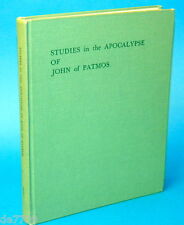 Studies in the Apocalypse of John of Patmos Book of Revelation 1978 edition