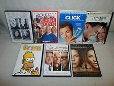 Tested ! Lot 7 DVD *Widescreen* Click/The Shipping News/I Am Sam/Simpsons Movie
