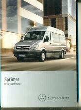 Mercedes  Sprinter Betriebsanleitung 2010 Bedienungsanleitung