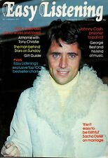 Easy Listening Magazine January 1973   Sacha Distel   Johnny Cash   Neil Diamond