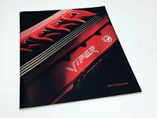 1992 Dodge Viper Brochure