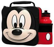 Mickey Mouse - Kids Children Insulated 3D Lunch Bag Box And Water Bottle Set