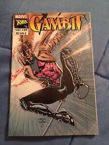 X-MEN #4 GAMBIT Cover TOYBIZ LEGENDS Reprint 1st OMEGA RED [Marvel, 2003]