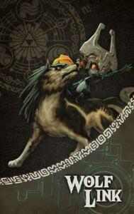 NEW Legend of Zelda - Wolf Link Amiibo Card