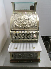 1910 National Brass Cash Register Model 313  Serial # 1385664 Candy/ Barber shop
