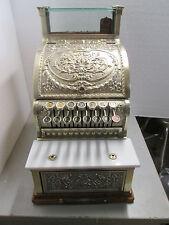 1910 National Brass Cash Register Model 313  Serial # 1385664 Candy/ Barber shop