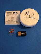 Brand New First Alert BRK FG250B9V Battery operated Smoke Alarm Detector
