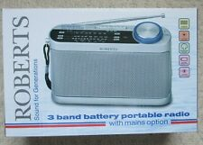 ROBERTS - New Classic 993 - R9993 - 3 Band Battery Portable Radio - Boxed