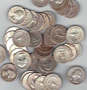 "iokth jhkjPre 1964 Washington Quarters 90% Silver ""Select how many"" $7.19 each"