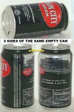 Pittsburgh,Pa.Sport Black Beer Can Forbes Field+Exposition Park*3 Rivers Stadium