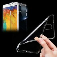 New Silicone Clear Crystal Soft Slim TPU Case Cover For samsung Galaxy Note4 S5