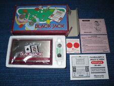 BLACKJACK game & watch NINTENDO lcd electronic HANDHELD no barcode! MINT IN BOX